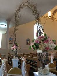 Wedding Arches In Church Church Wedding With Candle Aisle Markers For More Inspiration