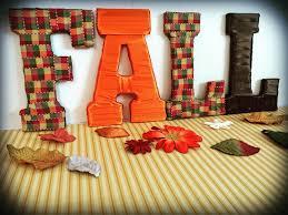 fall decorations fall letters home decor seasonal decor