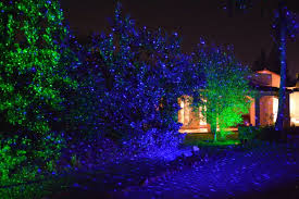 blue bliss light projection light laser fireflies