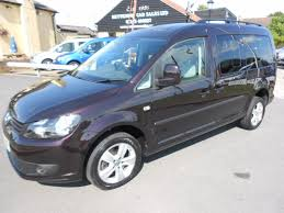 mpv van used purple vw caddy maxi for sale essex
