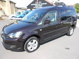 mpv van used purple vw caddy maxi for sale essex