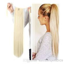 in extensions wholesale human hair clip in extensions ponytail 613