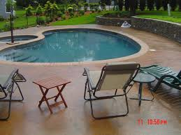 Pool And Patio Coventry Ri Artistic Stamped Concrete Of Rhode Island Artistic Concrete