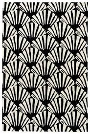 Black And Cream Rug Rizzy Home Connex Shag Rug In Black And White Rugs Direct