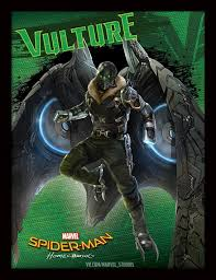 spidey and the vulture featured on new spider man homecoming