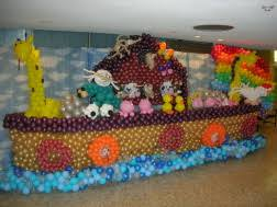 Noah S Ark Decorations Large Custom Balloon Decor Hollynagel Com