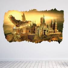 movie tv related wallstickers co uk harry potter hogwarts 3d wall sticker