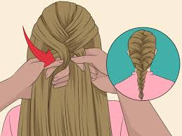 show pix of braid how to start a french braid 12 steps with pictures wikihow