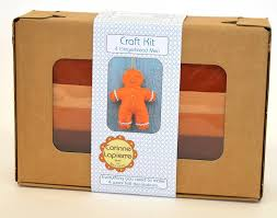 gingerbread felt kit by corinne lapierre notonthehighstreet