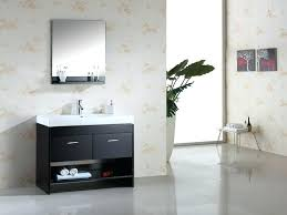 appealing contemporary vanities for small bathrooms largo gray oak