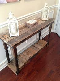 what is a sofa table used for rustic foyer entry table reclaimed