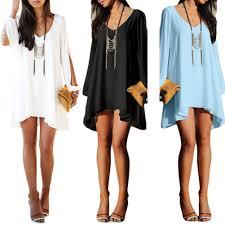 wholesale long sleeve casual loose shirt dress women summer