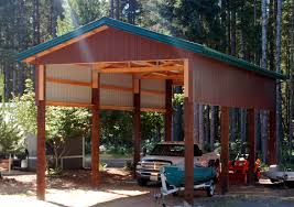 attached carport building a wooden carport good instructions supplies list etc