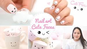 nail art kawaii japan expo cute faces かわいい youtube
