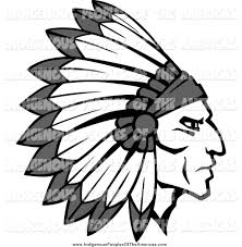 chief clipart aboriginal pencil and in color chief clipart