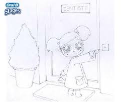go to the dentist coloring pages hellokids com