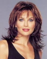 shaggy haircuts for women over 40 image result for medium shag haircut with bangs 2017 hair cuts