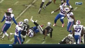 Penalty Flag Football Marquette King Celebrates With Flag After Roughing The Kicker