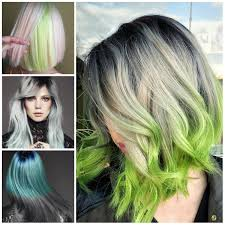 the best ways to rock green hair in 2017 haircuts hairstyles