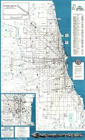 City Of Chicago Map by Map Of Chicago Subway My Blog
