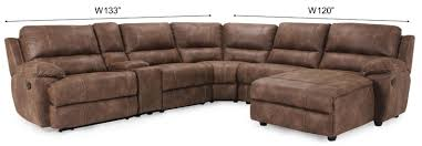 Sectional Recliner Sofas Yellowstone Sectional Reclining Rooms Frontroom Furnishings