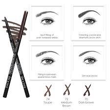 How To Shape Eyebrows With Tweezers Eye Brow Products Isadora Global