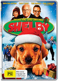 the they saved christmas dvd dvd review shelby the dog who saved christmas glam adelaide