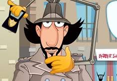 inspector gadget barber shop inspector gadget games