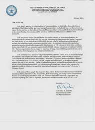 Air Force Letter Of Recommendation Template by Joshua Galle Google