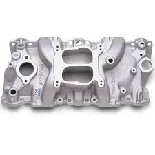 edelbrock 2104 performer intake manifold sbc u002787 95 cast iron