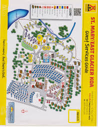 Map Of Missoula Montana by St Mary Montana Campground St Mary East Glacier Koa