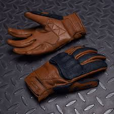 cafe latte biker gloves cafe latte