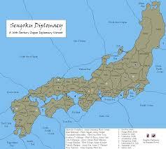 Sea Of Japan Map Sengoku By Benjamin Hester