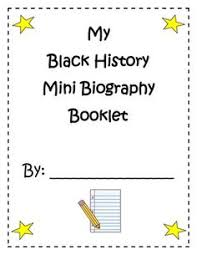 black history month bingo menu of extension projects students can