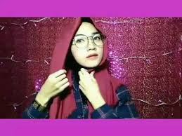 tutorial hijab persegi berkacamata tutorial hijab segiempat rawis simple by ig wilda uliarosa youtube