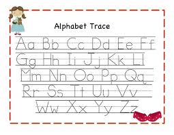 printable alphabet tracing sheets for preschoolers trace letters worksheets activity shelter math worksheet