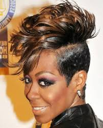 new short mohawk hairstyles for black women with straight hair