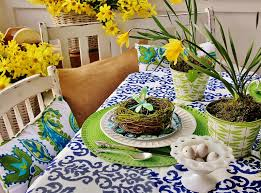 easter decoration ideas easter table decorating thistlewood farm