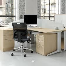 Left Handed Desk Kassini Left Handed Crescent Workstation Office Desks