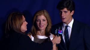 Caroline Kennedy S Children Cnn Press Site Caroline Kennedy And Her Son Talk With Cnn U0027s Candy