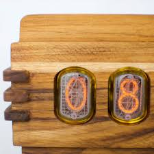 nuvitron s vintage nixie tube clock the coolest nixie clock ever