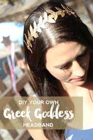 goddess headband do it your freaking self diy gold headband do it your