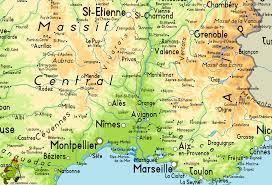 Antibes France Map by Saint Etienne Map