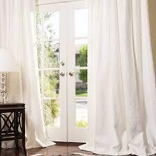 Linen Curtains With Grommets Manhattan Blended Linen Drapes Drapestyle Com