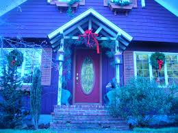 pictures of homes decorated for christmas outside part 37 good
