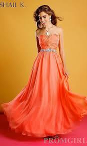 designer kleider gã nstig kaufen 49 besten prom formal coral orange dresses bilder auf