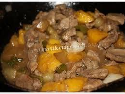 cuisiner sauté de porc sauté de porc à l ananas recette ptitchef