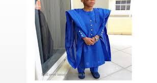 blue dashiki boys agbada clothing for boys agbada for boys