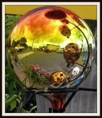 111 best gazing balls images on globes garden items