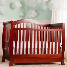 Mini Cribs With Storage by On Me Addison 5 In 1 Convertible Crib With Storage